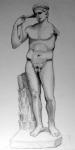 Athlete from British Museum (pencil)