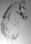 Horse from British Museum (pencil)