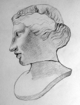 Aphrodite from British Museum (pencil)