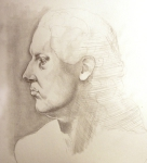 Bust from V&A (pencil)