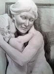 Statue from Tate Britain (pencil)