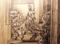 Statue from British Museum (pencil)