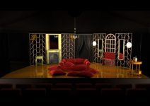 la traviata - designs - Act 1