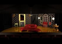 la traviata - designs - Act 1