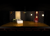 la traviata - designs - Act 3