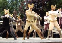 Mask dance #1
